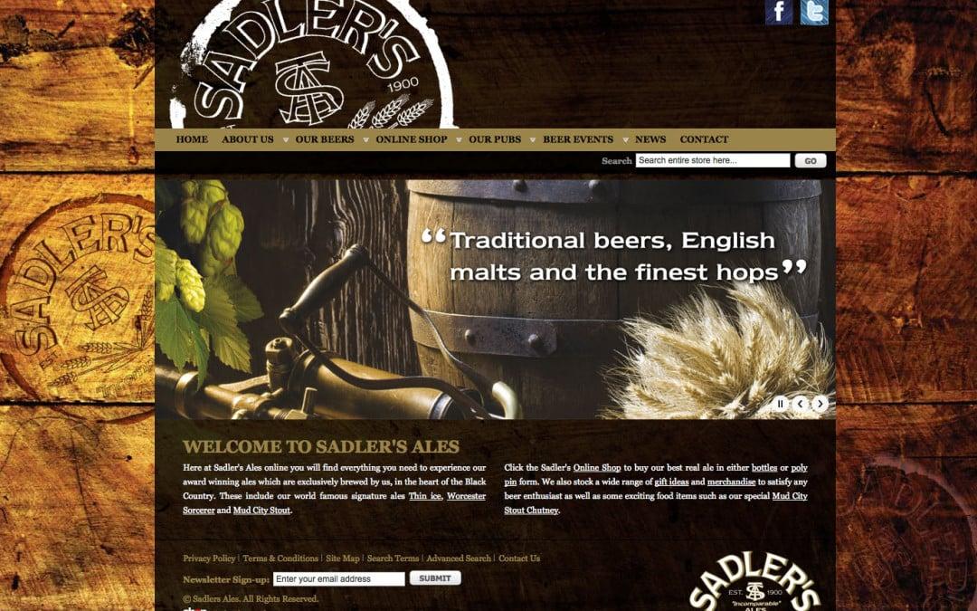 Sadler's Ales NEW Website and Online Shop