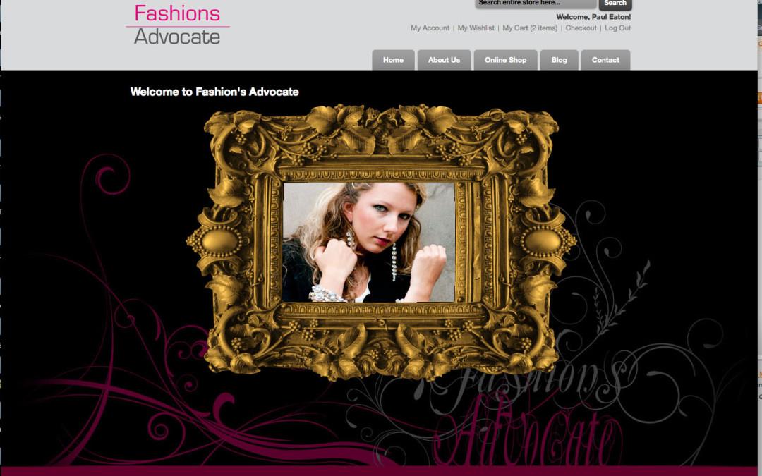 Fashions Advocate Online Shop NOW LIVE!