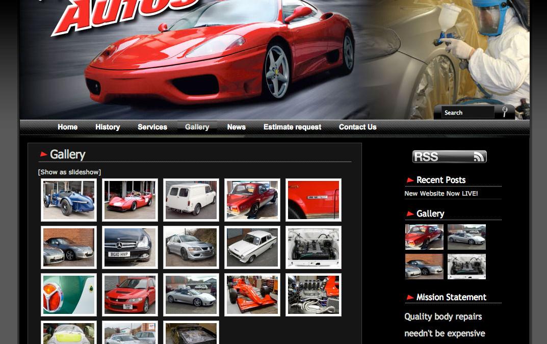 Mick Hadley Autos Website LIVE!
