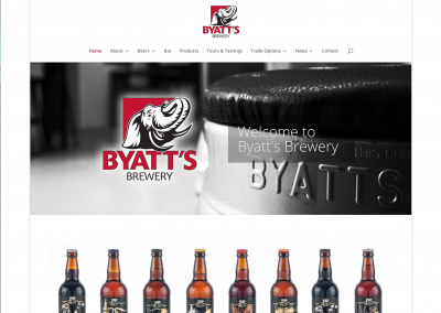 Byatts Brewery Shop