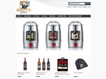 Byatts Brewery Shop