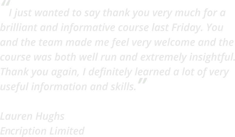 Gambit Nash Digital Marketing Training 1 day course - customer quote: I just wanted to say thank you very much for a brilliant and informative course last Friday. You and the team made me feel very welcome and the course was both well run and extremely insightful. Thank you again, I definitely learned a lot of very useful information and skills.
