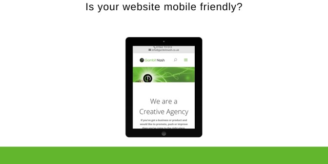 Is Your Site Mobile Friendly? If Not You Might See A Decrease In Visitors To Your Site