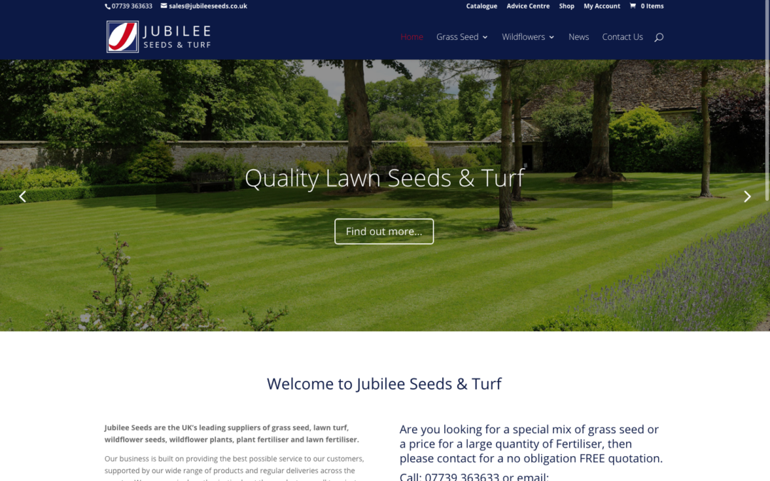 Jubilee Seeds Website Goes Live.