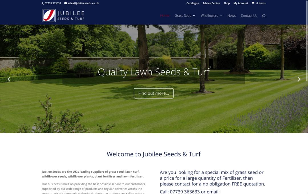 Jubile Seeds Website