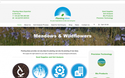 Planting Ideas Website Is Now Live