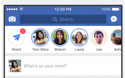 Facebook Launch Snapchat Like Feature Called Facebook Stories
