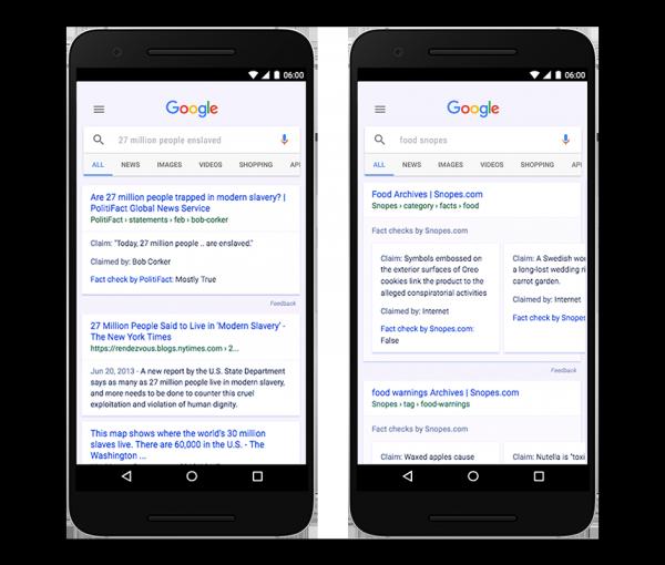 Google's Fact Check