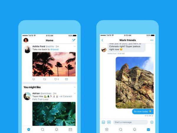 Twitter's new Design
