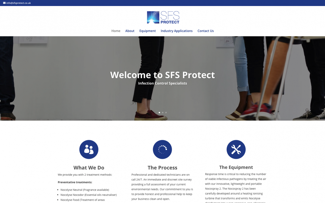 SFS Protect Limited Website Goes Live