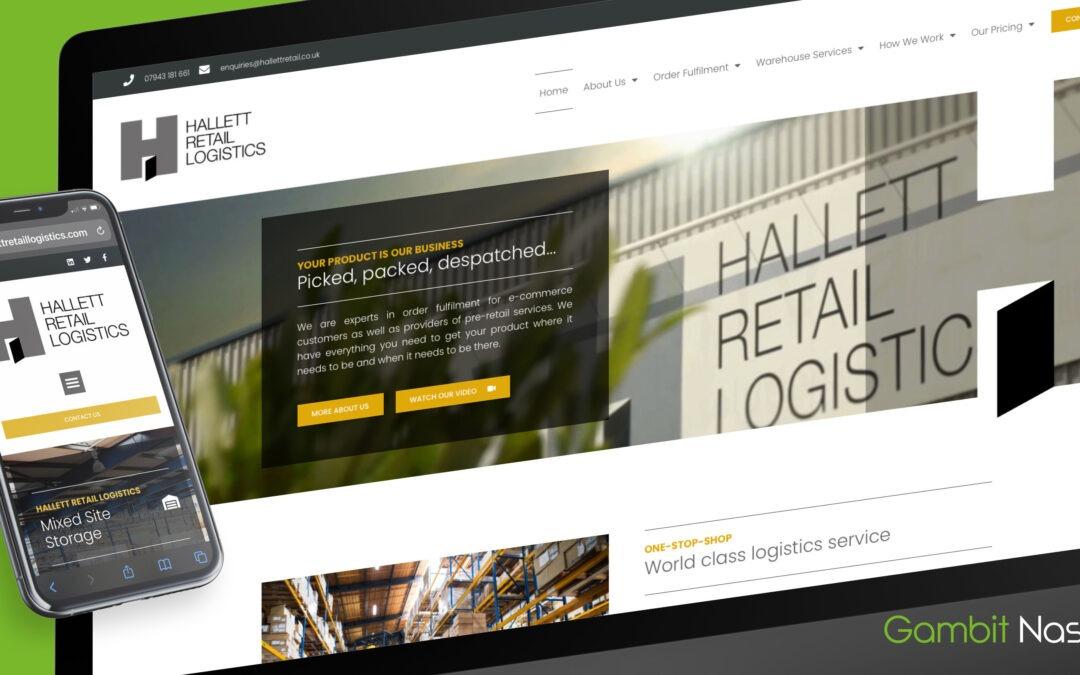Hallett Retail Logistics Website Goes Live
