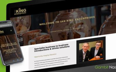 Ian King Enterprises Website Goes Live